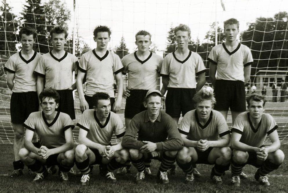1958 Keppnisferð 2.flokkur Mynd2