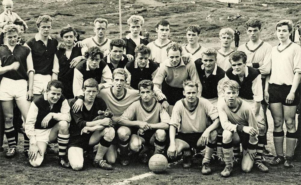 1966 Æfingarferð til Færeyja