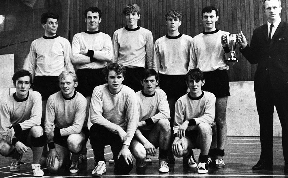 1969 ÍA liðið innanhúss