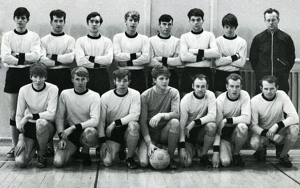 1970 Íslandsmeistarar Innanhúss