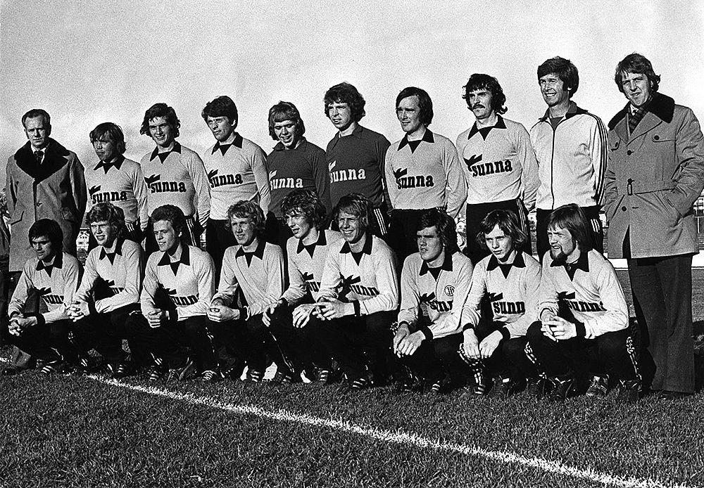 1975 Íslandsmeistarar liðið