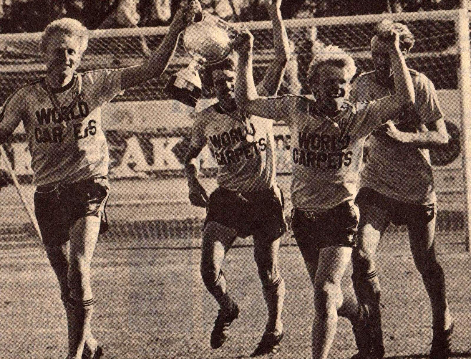 1982 ÍA - Keflavík Bikarúrslit mynd1