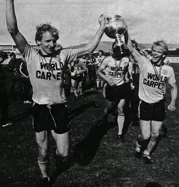 1982 ÍA - Keflavík Bikarúrslit mynd2