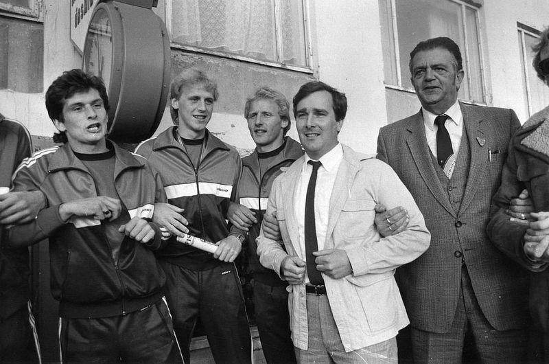 1982 ÍA - Keflavík Bikarúrslit mynd5