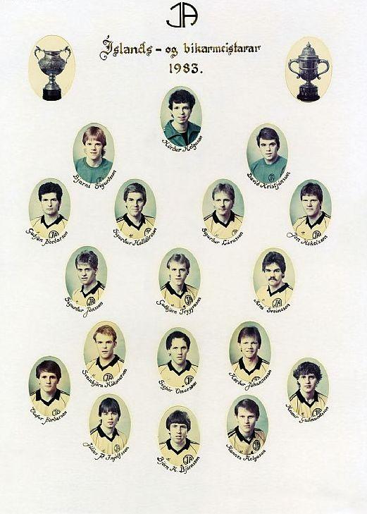 1983 ÍA liðið01