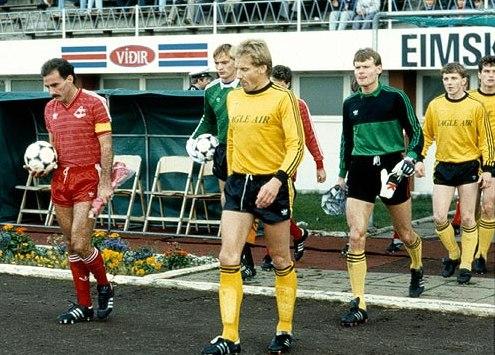 1985 ÍA - Aberdeen mynd1
