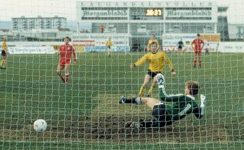 1985 ÍA - Aberdeen mynd2