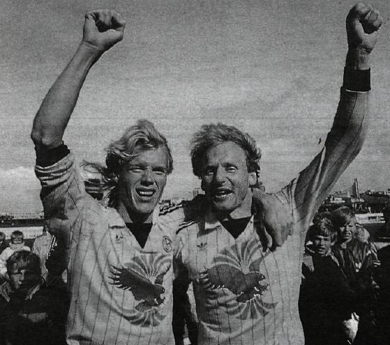 1986 ÍA - Fram Bikarúrslit02