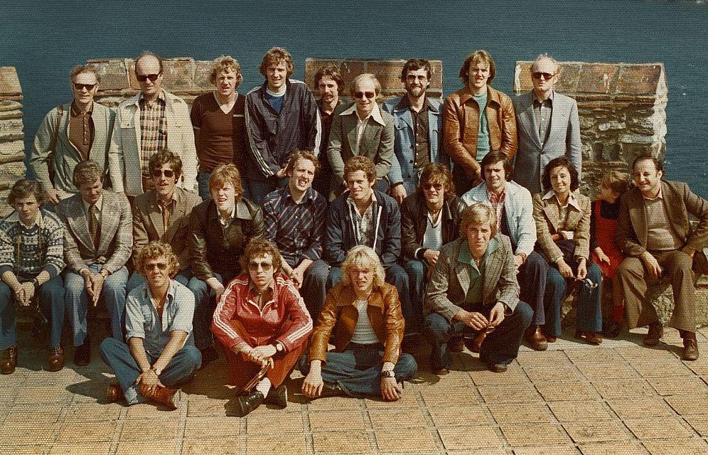 1976 Trabzonspor - ÍA liðsmynd