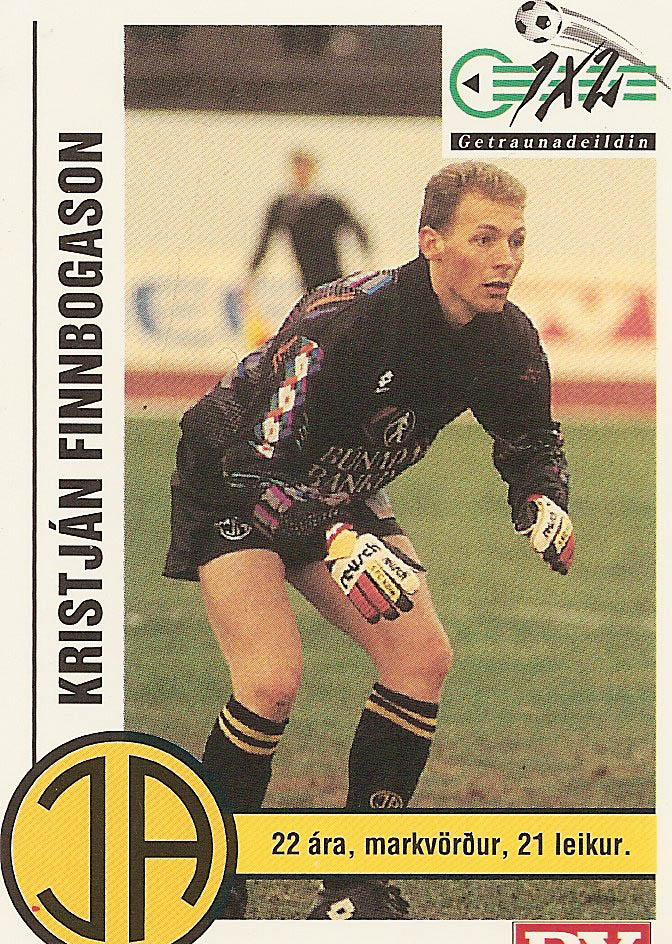1993 LiðsmyndDV Kristján F